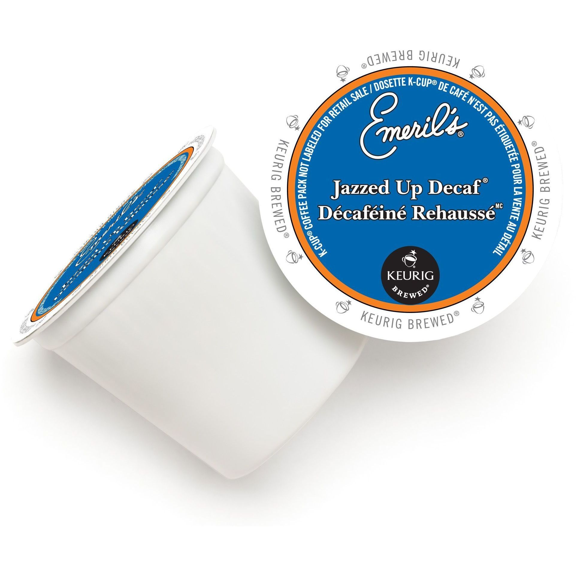 K-Cup Portion Pack for Keurig Brewers 24-Count Emeril/'s Jazzed Up Decaf Coffee