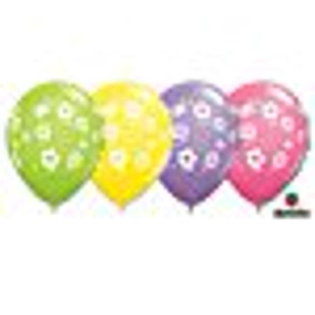 Flowers & Butterflies Printed Latex Balloons 12 - Butterfly Pinata