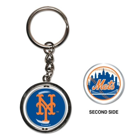 Mets Team Key (New York Mets Spinner Key Ring - No)