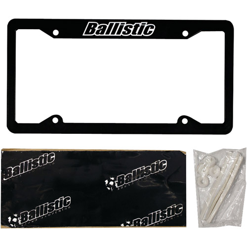 Metra Ballistic SSLICB License Plate Kit
