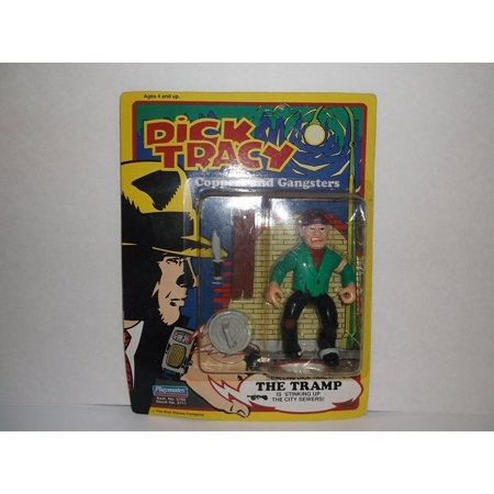 Figurine The Tramp, PUBLIC ENEMY. By Dick Tracy Ship from US (Dick Tracy Fancy Dress)