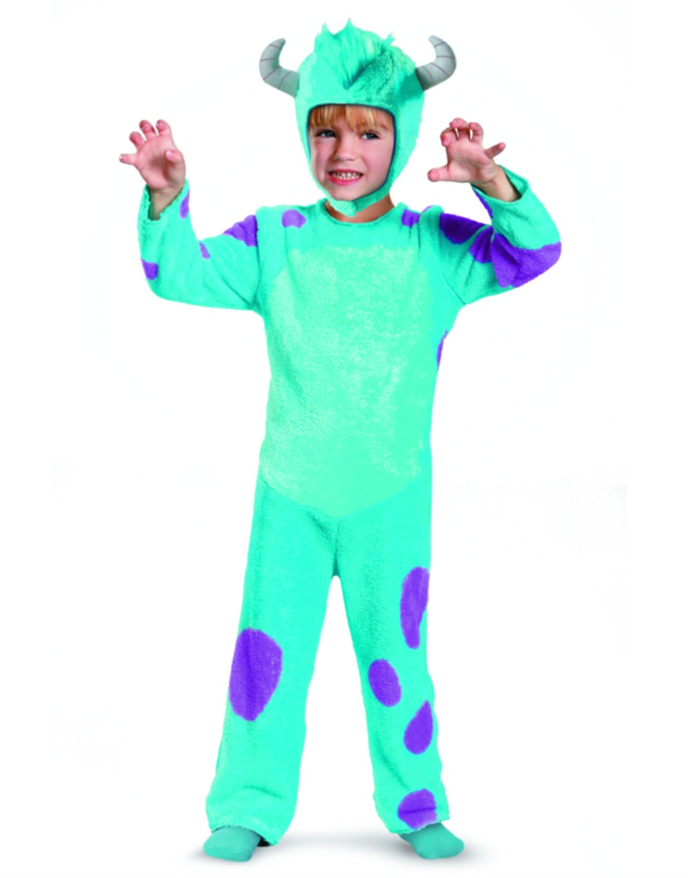 monsters u sulley classic toddler halloween costume walmartcom - Monsters Inc Baby Halloween Costumes