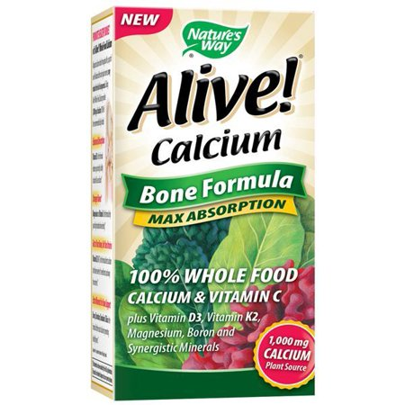 Nature S Way Alive Calcium Bone Formula