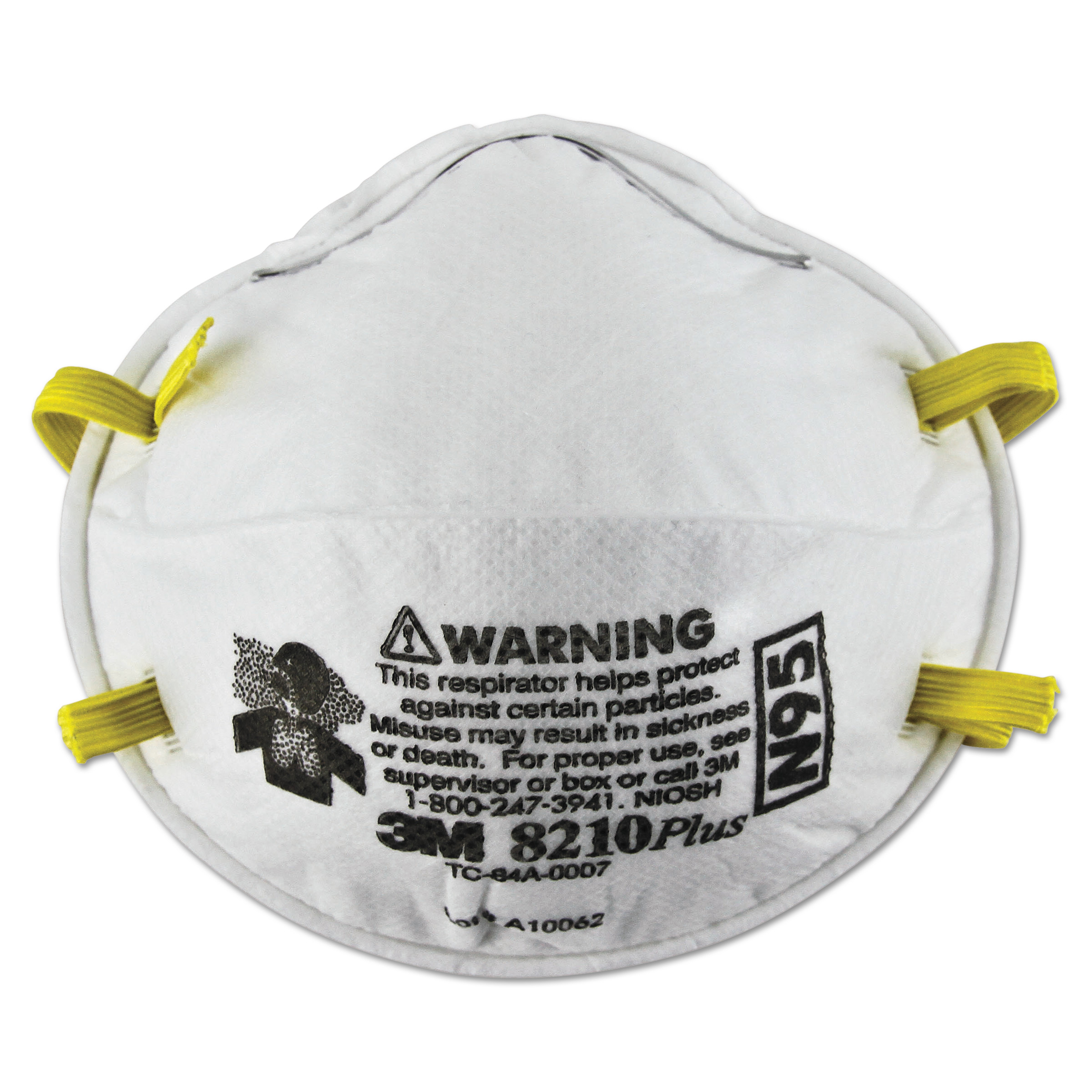 3M 8210PLUS N95 Particulate Respirator by 3M/COMMERCIAL TAPE DIV.