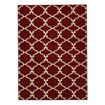 Sweethome Stores Clifton Collection Moroccan Geometric Trellis Design Living and Bedroom Area Rugs ()
