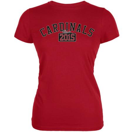 Graduation - Cardinals 2015 Red Juniors Soft T-Shirt