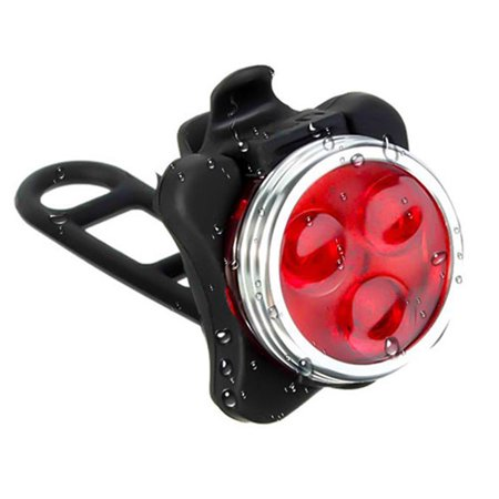 Super Bright Bike Light, USB Rechargeable Front and Rear LED Bicycle Lights Set, Bicycle Headlight, Safety Warning Taillight, Cycling Flashlight Best for Mountain Road/City
