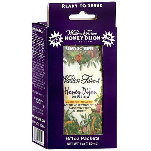 Walden Farms Calorie-Free Honey Dijon Dressing, 6 oz (Pack of 12)