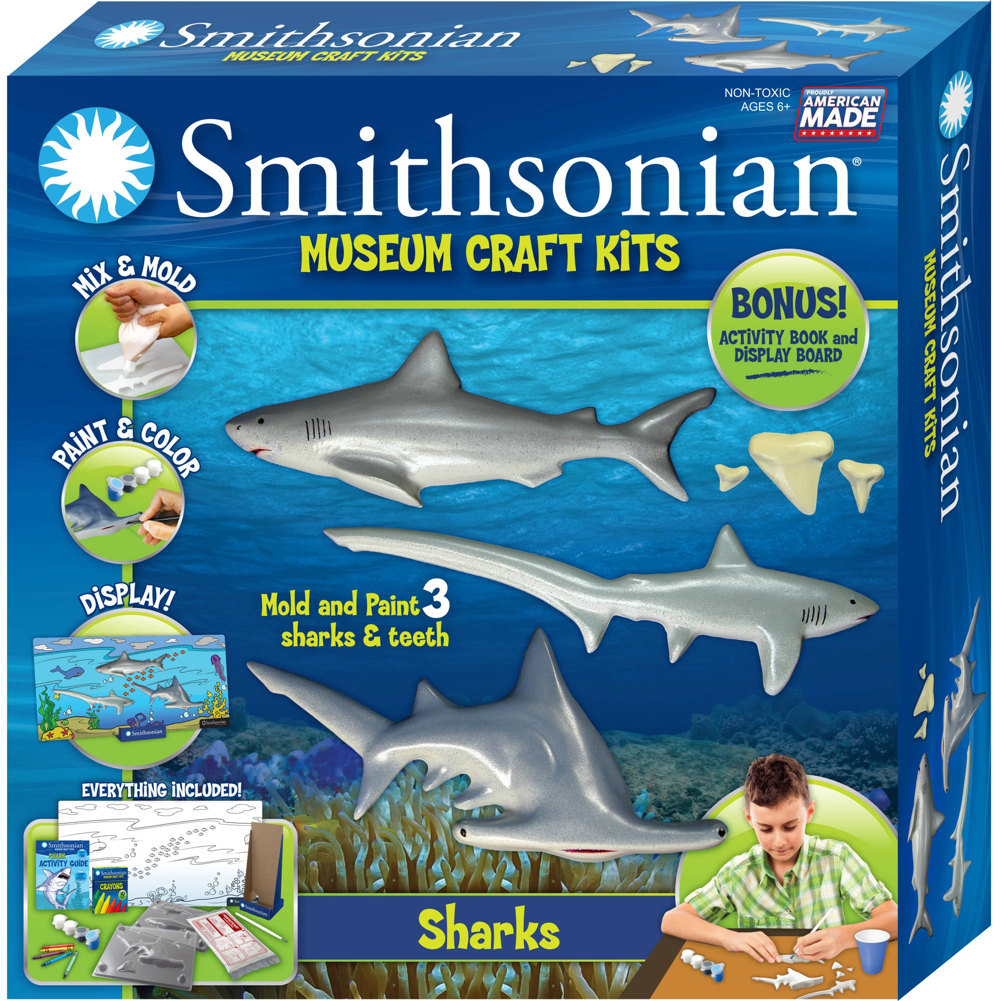 Smithsonian Museum Craft Kits, Shark