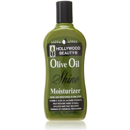 Hollywood Beauty Olive Oil Moist & Shine Moisturizing Hair Lotion, 12