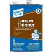 Klean Strip Lacquer Thinner, 1 Gallon