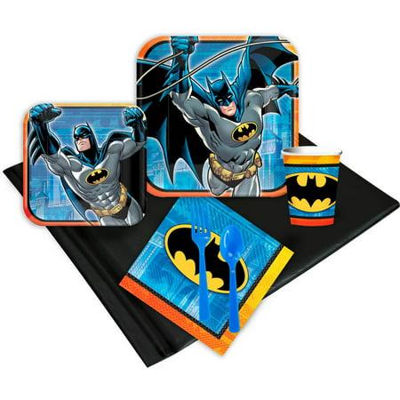 Batman 24-Guest Party Pack (Batman Birthday Party Ideas)