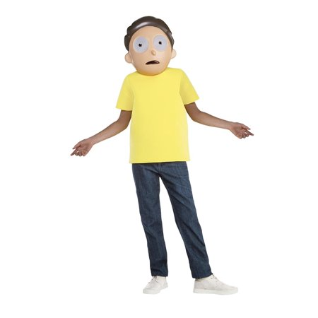 Rick and Morty Morty Teen Costume - Size 14-16 - image 1 de 1
