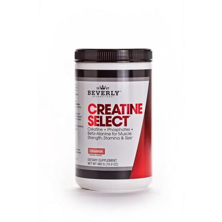 Beverly International Creatine Select with Beta Alanine Orange, 16.9 (International White Male Day)