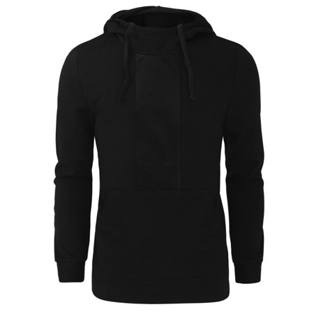 Tom's Ware Mens Stylish Pull Over Long Sleeve Drawstring (Stylish Mens)