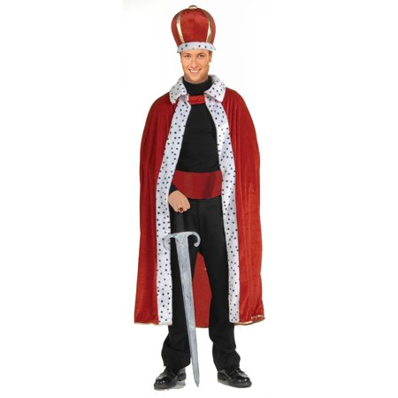 King Robe and Crown Red Unisex Teen Adult F61299