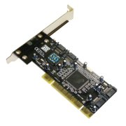 MASSCOOL XWT-RC040 PCI Card 4 internal SATA Accessory for Motherboard Retail