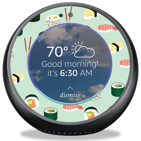 Skin For Amazon Echo Spot   Sushi  Mightyskins Protective  Durable  And Unique Vinyl Decal Wrap Cover   Easy To Apply  Remove  And Change Styles   Made In The Usa