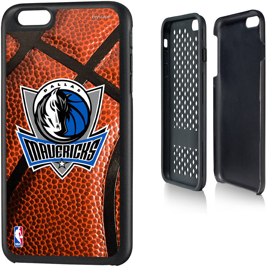 Dallas Mavericks Basketball Design Apple iPhone 6 Plus Rugged Case by Keyscaper