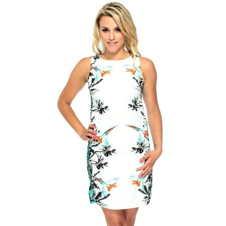 Women's Mini Mid Dress High Neck Sleeveless Skirt](Gatsby Dresses Online)
