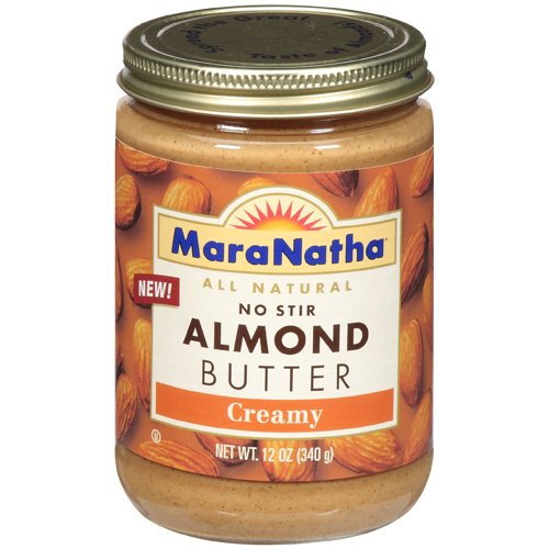 Maranatha: Butter All Natural No Stir Almond Creamy, 12 oz