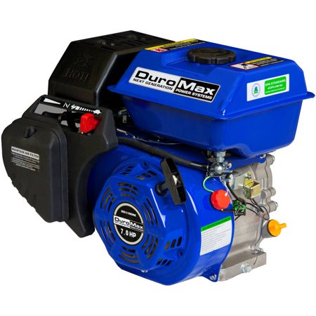 Duromax 7Hp 3 4  Shaft Recoil Start Engine