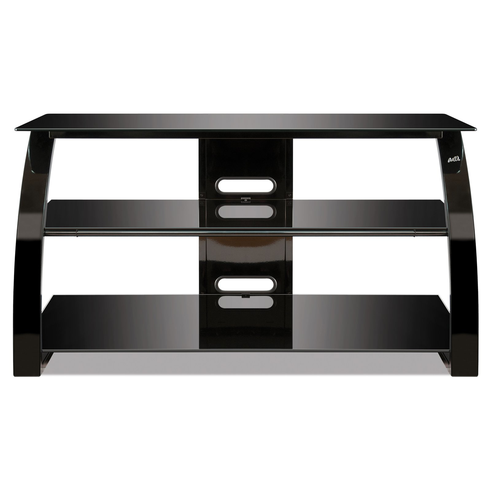 BellO Flat Panel TV Stand - High Gloss Black - 42 in.