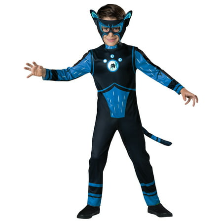 Wild Kratts Blue Panther Creature Costume Boys Child Costume - Panther Kids