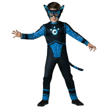 Wild Kratts Blue Panther Creature Costume Boys Child - Wild Kratt Costume