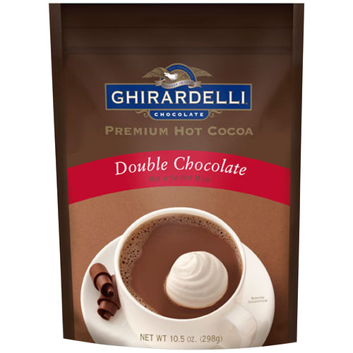 Ghirardelli Double Chocolate Premium Hot Cocoa, 10.5 oz