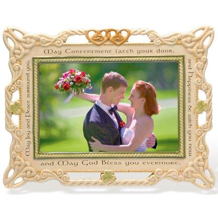 Grasslands Road Celebrating Heritage Celtic Wedding Ceramic Frame 7