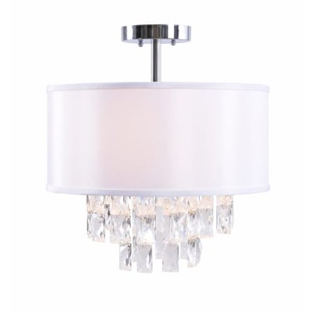 Kenroy home 93941 ophelia 2 light 16 wide semi flush drum ceiling kenroy home 93941 ophelia 2 light 16 wide semi flush drum ceiling fixture with aloadofball Choice Image