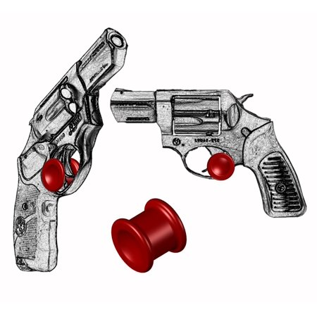 ONE Micro Holster Trigger Stop For Ruger SP101 GP100 & Super Redhawk Red