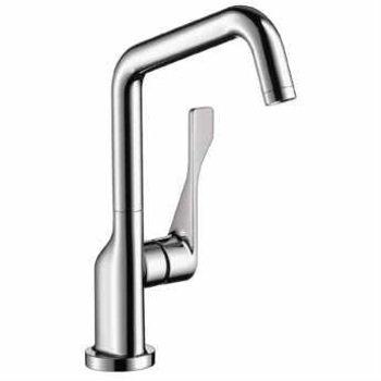 Hansgrohe 39851801 Axor Citterio Bar Faucet, Steel Optik