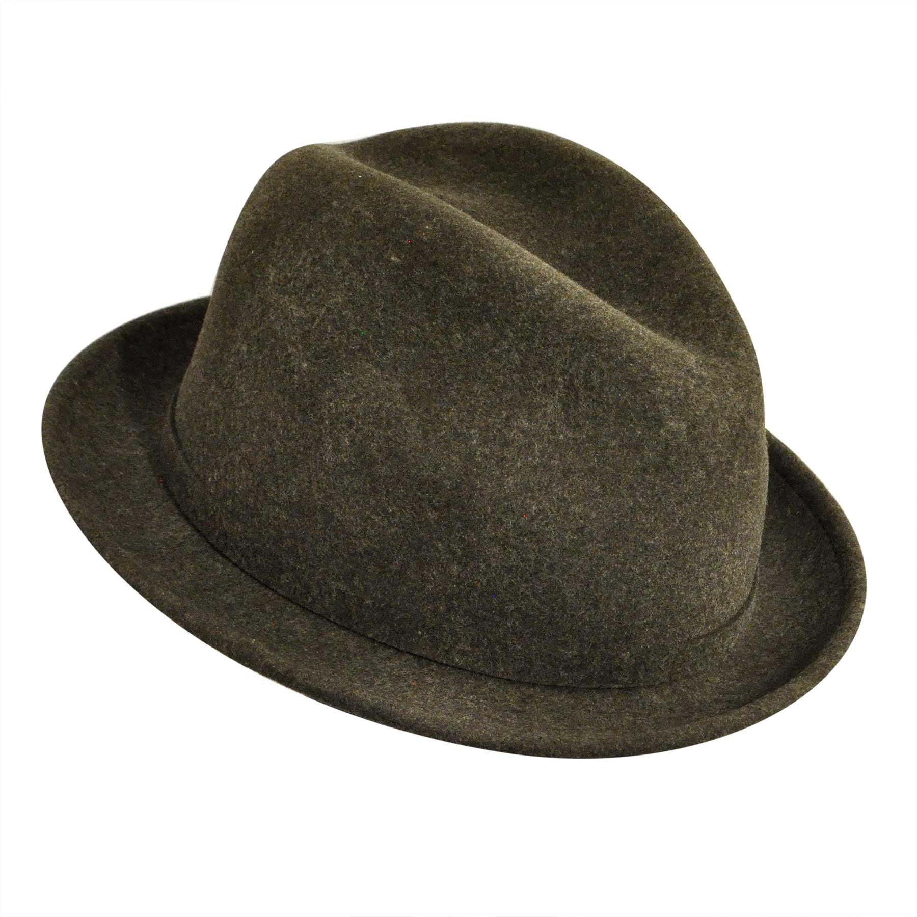 4e5b8e5a8c226 Pantropic - Pantropic Male Mens Litefeltâ® Charlie Stingy Brim Fedora Hat -  Walmart.com