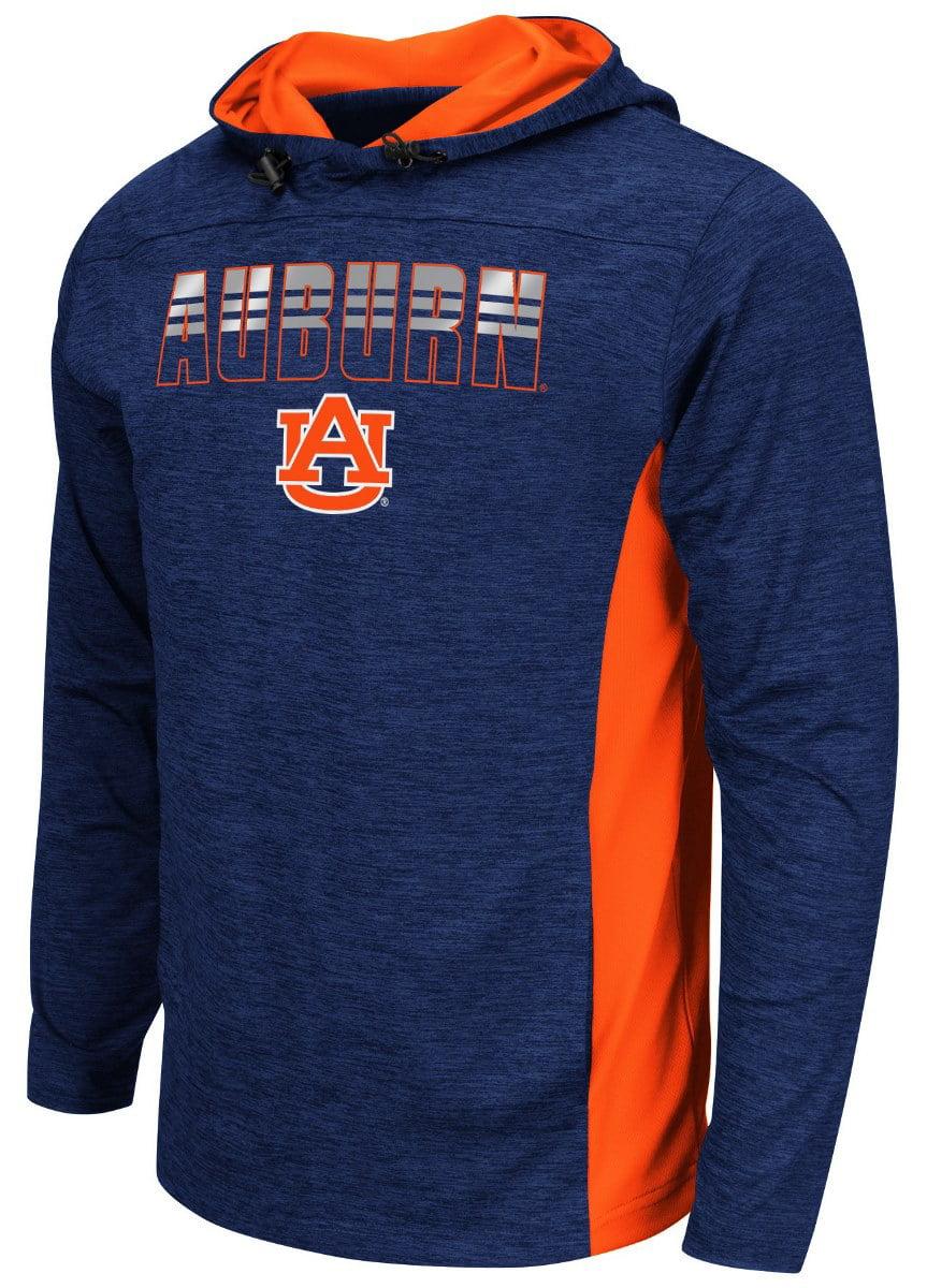 "Auburn Tigers NCAA ""Sleet"" Pullover Men's Hooded Jacket by Colosseum"
