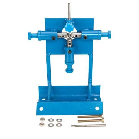 Zimtown Manual Wire Stripping Machine, 1mm - 20mm Portable Benchtop Hand Crank Copper Cable Stripper Tool, for Scrap Metal Recycling 0.039