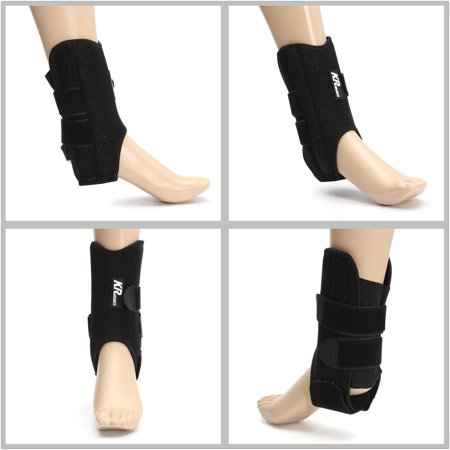Adjustable ANKLE BRACE SUPPORT Compression Sports Stabilizer Elastic Foot Wrap - image 5 de 6