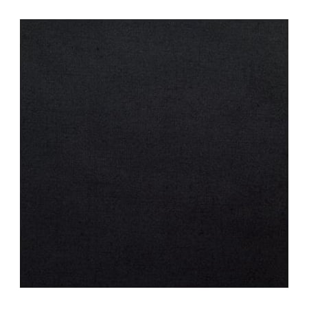 Poly Cotton Broadcloth 60 Inch Fabric by the Yard (Black)