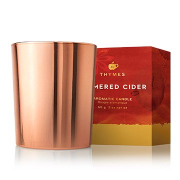 Thymes SIMMERED CIDER VOTIVE CANDLE 2 oz.