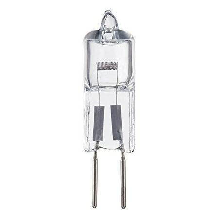 Pack Of 10 Q35/G6.35/12V, 35 Watt, T3 JC Type, 12 Volt, Clear, G6.35 Bi-pin Base, Halogen Light Bulb 12 Volt Clear Bi Pin