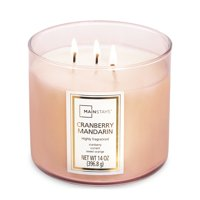 Mainstays 3-Wick Scented Candles