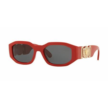 Versace 4361 Sunglasses 533087 Red