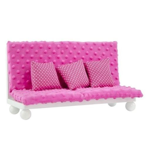 "Olivia's Little World Little Princess 18"" Doll Furniture Pink Lounge Set"