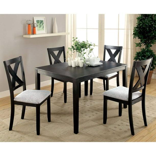 Furniture of America Demarca 5 Piece Casual Dining Set - Walmart