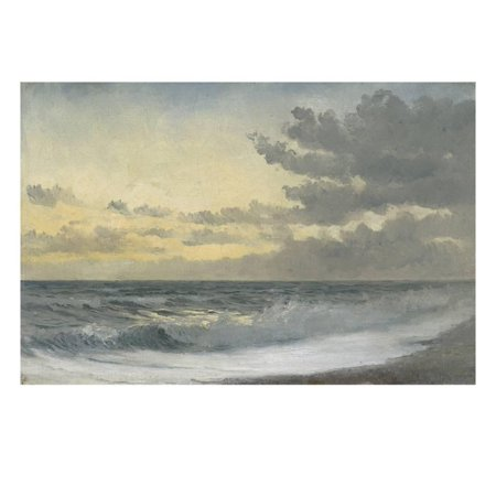 Melody Collection Oil (Twilight - Sad Melody (Oil on Board) Print Wall Art By William Pye)