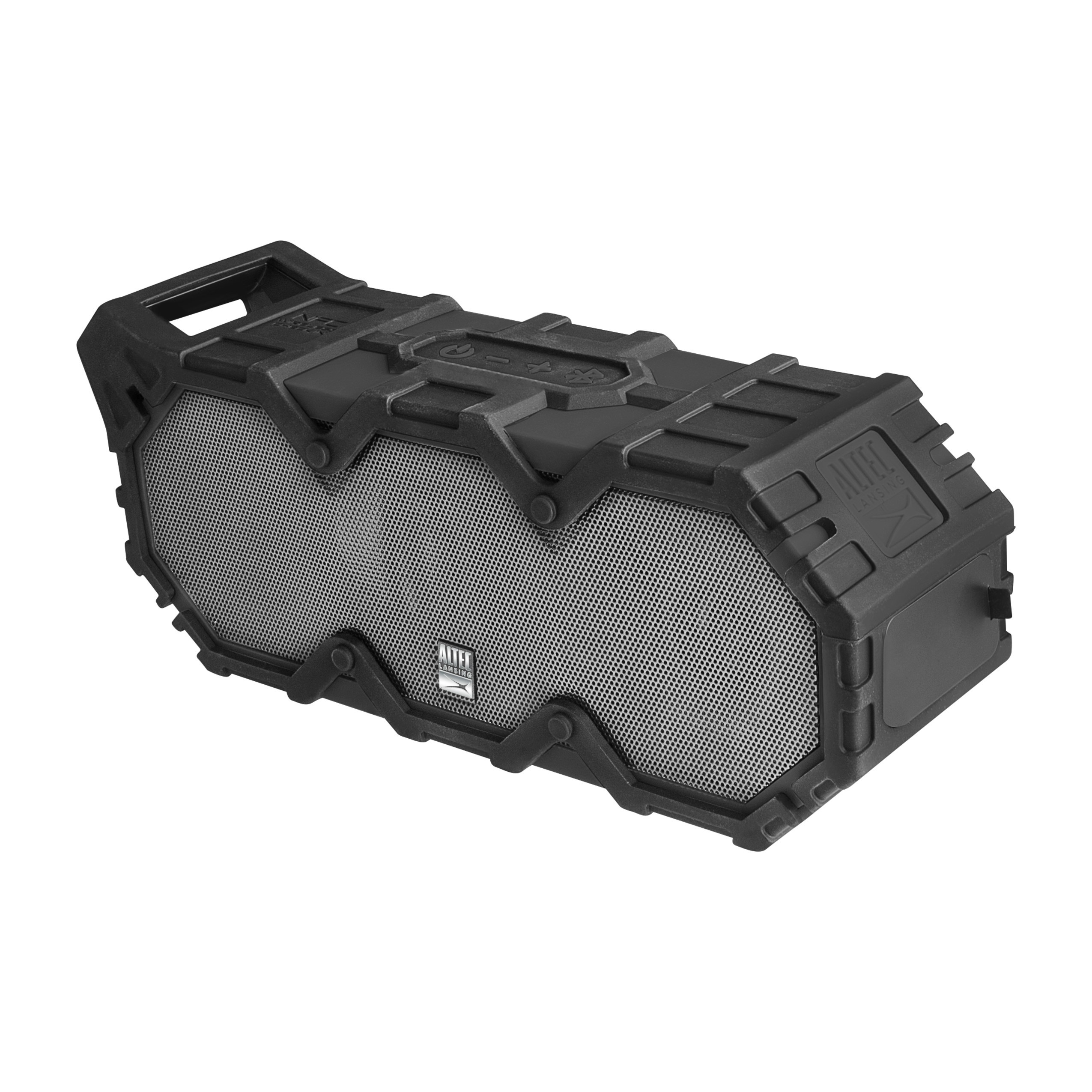 Altec Lansing Super Life Jacket IMW888-BLG Speaker Black Steel Gray by Sakar