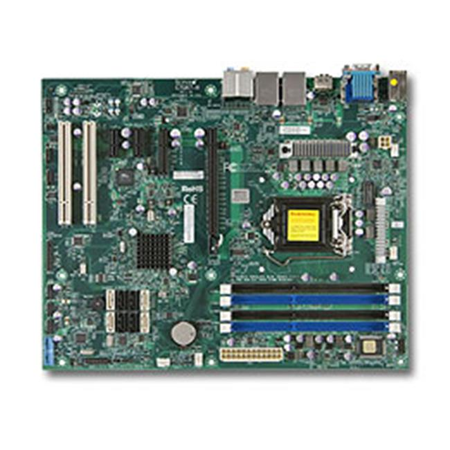 Super Micro C7Q67-H-O 9.6 x 12 in. LGA1155, Intel Q67 SATA3 & USB3.0 A & 2GbE ATX Server Motherboard