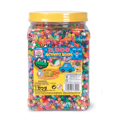 Perler Beads Bead Jar - Multi Mix Colors - 11,000 pieces - Halloween Perler Beads