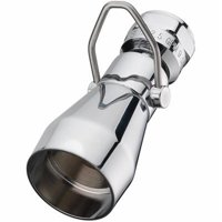 Home Pointe Fixed Shower Head, Chrome & Brass